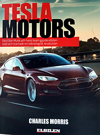 Tesla Motors book, Swedish edition